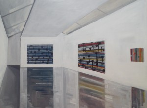 Kerlin Gallery. 2014, oil on canvas. 122cmx92cm,2014