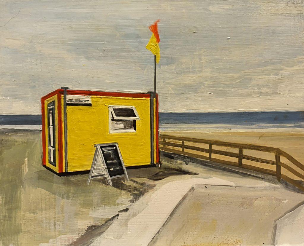 Life Gaurd Hut - Fanore Beach (sold)